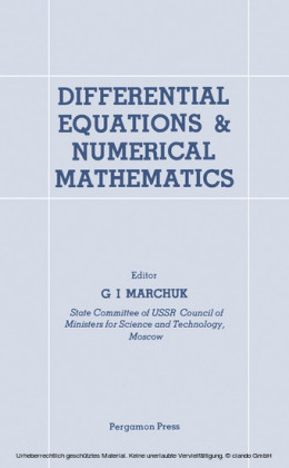 Differential Equations and Numerical Mathematics