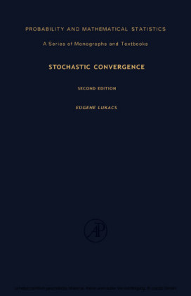 Stochastic Convergence