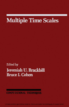 Multiple Time Scales