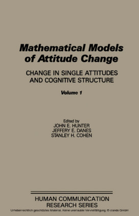 Mathematical Models of Attitude Change