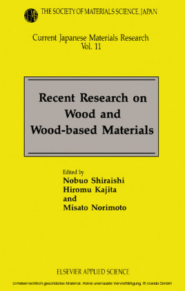 Recent Research on Wood and Wood-Based Materials