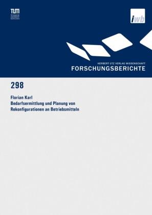 Bedarfsermittlung und Planung von Rekonfigurationen an Betriebsmitteln