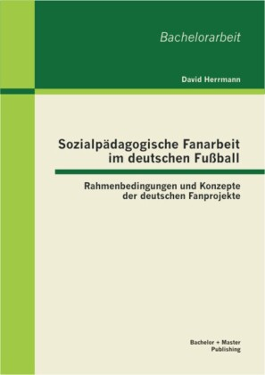 Sozialpädagogische Fanarbeit im deutschen Fußball: Rahmenbedingungen und Konzepte der deutschen Fanprojekte