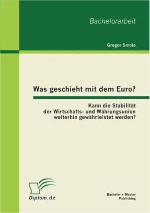 Was geschieht mit dem Euro? Kann die Stabilität der Wirtschafts- und Währungsunion weiterhin gewährleistet werden?