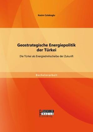 Geostrategische Energiepolitik der Türkei: Die Türkei als Energiedrehscheibe der Zukunft