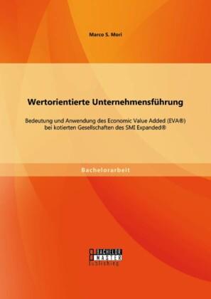 Wertorientierte Unternehmensführung: Bedeutung und Anwendung des Economic Value Added (EVA®) bei kotierten Gesellschaften des SMI Expanded®