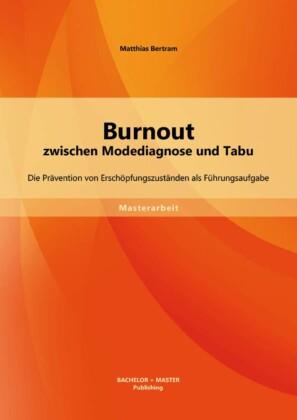 Burnout zwischen Modediagnose und Tabu: Die Prävention von Erschöpfungszuständen als Führungsaufgabe
