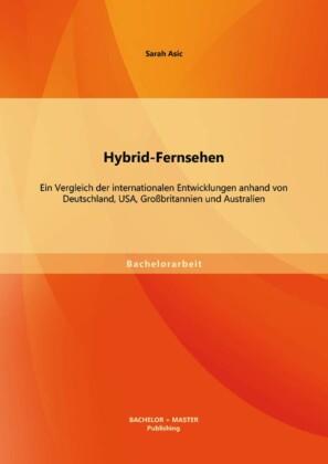 Hybrid-Fernsehen: Ein Vergleich der internationalen Entwicklungen anhand von Deutschland, USA, Großbritannien und Australien
