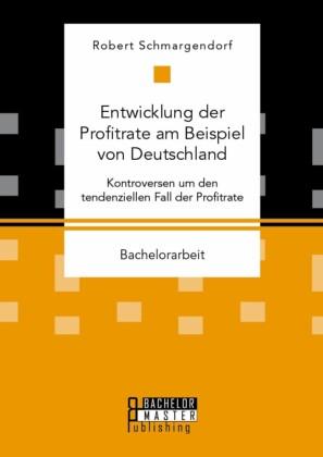 Entwicklung der Profitrate am Beispiel von Deutschland