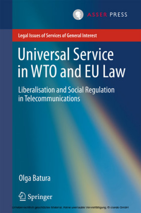 Universal Service in WTO and EU law