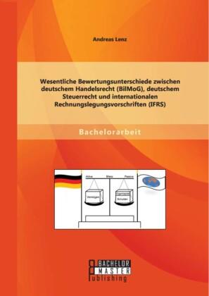 Wesentliche Bewertungsunterschiede zwischen deutschem Handelsrecht (BilMoG), deutschem Steuerrecht und internationalen Rechnungslegungsvorschriften (IFRS)