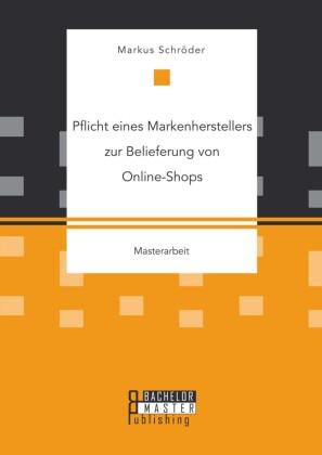 Pflicht eines Markenherstellers zur Belieferung von Online-Shops