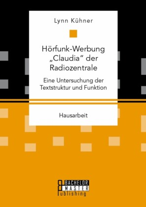 Hörfunk-Werbung 'Claudia' der Radiozentrale