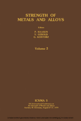 Strength of Metals and Alloys