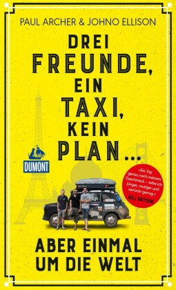 Drei Freunde, ein Taxi, kein Plan