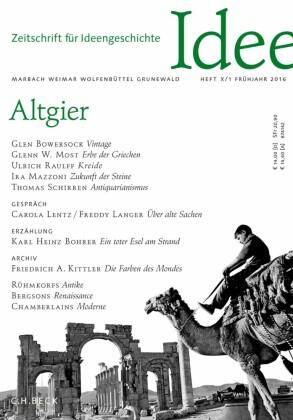 Zeitschrift für Ideengeschichte Heft X/1 Frühjahr 2016