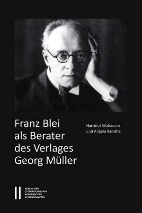 Franz Blei als Berater des Verlages Georg Müller