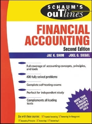 Schaum's Outline of Financial Accounting 2 Ed.