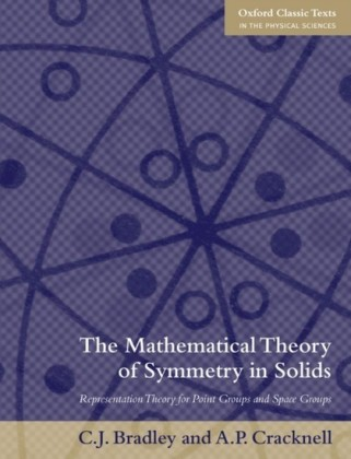 Mathematical Theory of Symmetry in Solids: Representation Theory for Point Groups and Space Groups