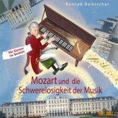 Mozart und die Schwerelosigkeit der Musik, 1 Audio-CD Cover