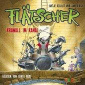 Flätscher - Krawall im Kanal, Audio-CD Cover