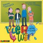Vier wie wir retten die Schule, 2 Audio-CDs