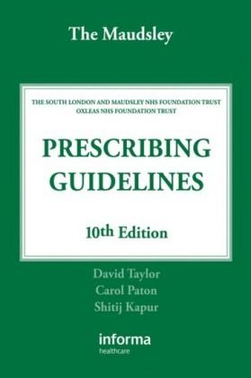 Maudsley Prescribing Guidelines, Tenth Edition
