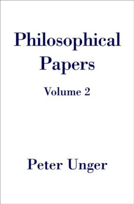 Philosophical Papers: Volume Two