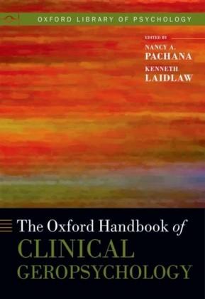 Oxford Handbook of Clinical Geropsychology