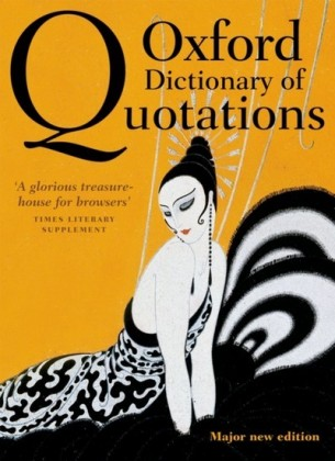 Oxford Dictionary of Quotations 8e