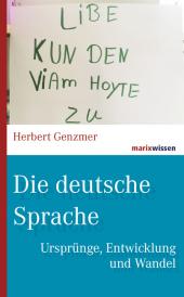 Die deutsche Sprache Cover