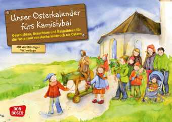 Unser Osterkalender fürs Kamishibai