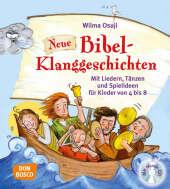 Neue Bibel-Klanggeschichten, m. Audio-CD Cover