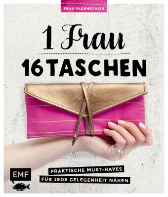 1 Frau - 16 Taschen