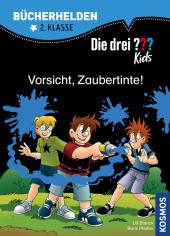 Die drei ??? Kids, Bücherhelden, Vorsicht, Zaubertinte! Cover