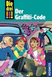 Die drei !!! - Der Graffiti-Code Cover