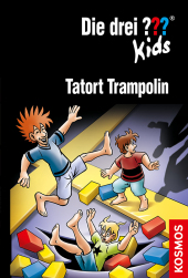 Die drei ??? Kids, Tatort Trampolin. Cover