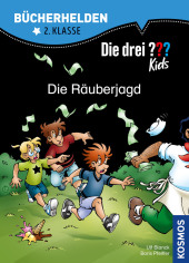 Die drei ??? Kids, Bücherhelden, Die Räuberjagd Cover