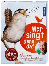 Wer singt denn da?, m. Audio-CD Cover