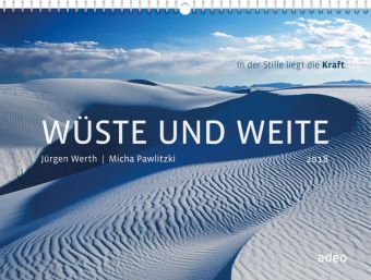 Wüste und Weite 2018 - Wandkalender