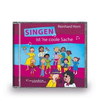 Singen ist 'ne coole Sache, Audio-CD