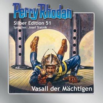 Perry Rhodan Silber Edition - Vasall der Mächtigen, 12 Audio-CDs