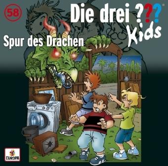 Die drei ??? Kids - Spur des Drachen, Audio-CD