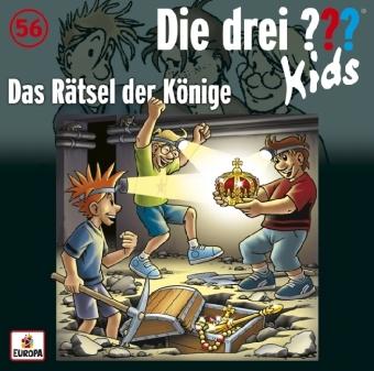 Die drei ??? Kids - Das Rätsel der Könige, Audio-CD