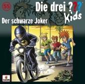 Die drei ??? Kids - Der schwarze Joker, Audio-CD