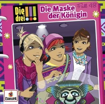 Die drei !!! - Die Maske der Königin, Audio-CD