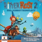 Ritter Rost - Das Schrottkomplott, Audio-CD Cover