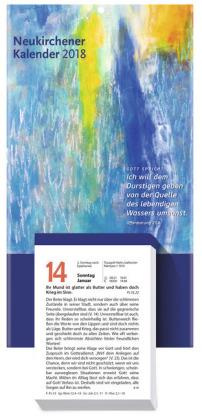 Neukirchener Kalender, Abreißkalender 2018