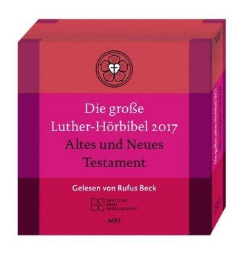 Die Große Luther-Hörbibel 2017. Altes und Neues Testament, 8 MP3-CDs