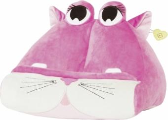 Bookmonster Katze - Lesekissen für Bücher und Tablets